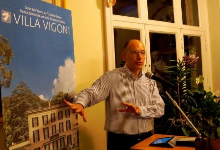 Interview - Enrico Letta
